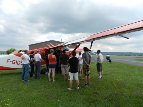 Portes ouvertes à l'aéroclub du Cantal 2013