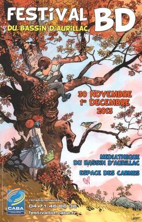 Festival de la BD sur le bassin d'Aurillac