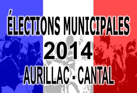 Élections municipales Aurillac Cantal 2014