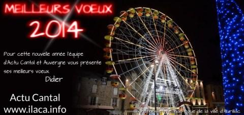 Vœux 2014 Actu Cantal Aurillac Cantal Auvergne