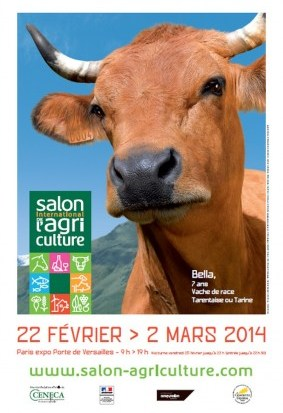 Salon de l'agriculture 2014, le Cantal présent