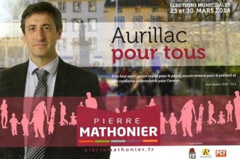 Pierre Mathonier - Aurillac pour tous