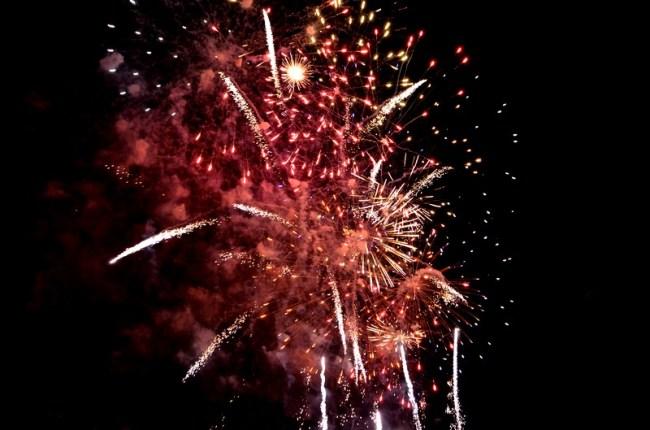 Feu d'Artifice 2014 à Aurillac