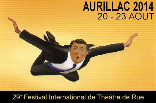 Festival de théâtre de rue  d'Aurillac 2014