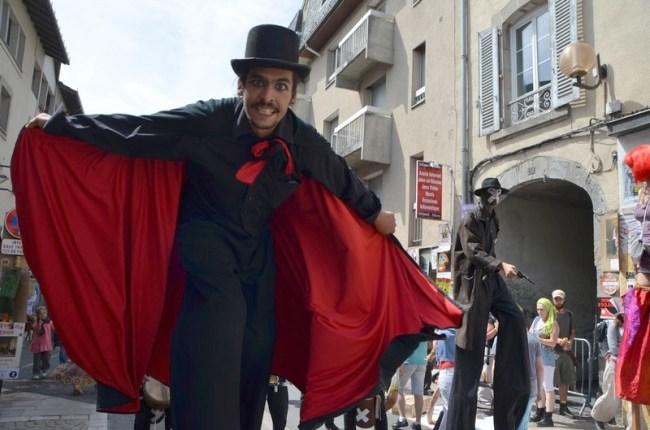 Festival de Théâtre de rue d'Aurillac 2015