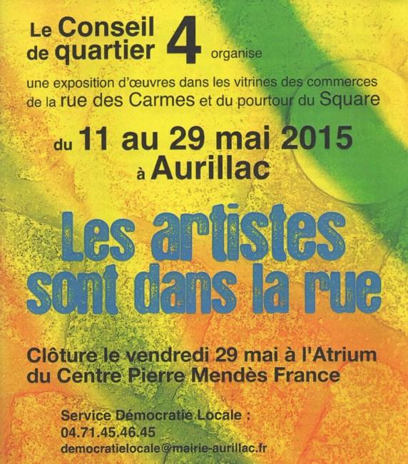 Artistes dans la rue à Aurillac