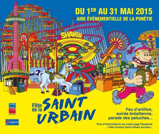 Fête de la Saint-Urbain 2015 à Aurillac