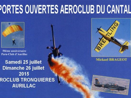 Aéroclub du Cantal - Portes-ouvertes 2015