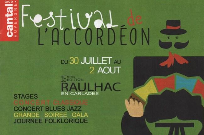Festival de l'Accordéon à Raulhac 2015