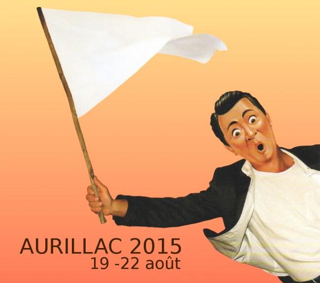 Programme du festival de théâtre de rue d'Aurillac 2015