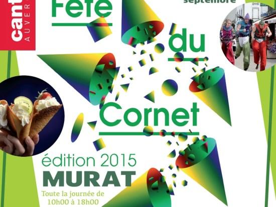 Fête du cornet de Murat 2015, Cantal