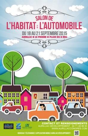 Salon de l'habitat et de l'automobile à Aurillac