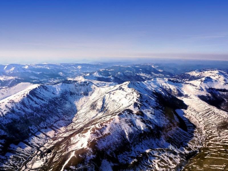 Le Cantal plus grand Volcan d'Europe et en Auvergne