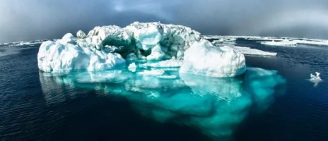 iceberg submerged