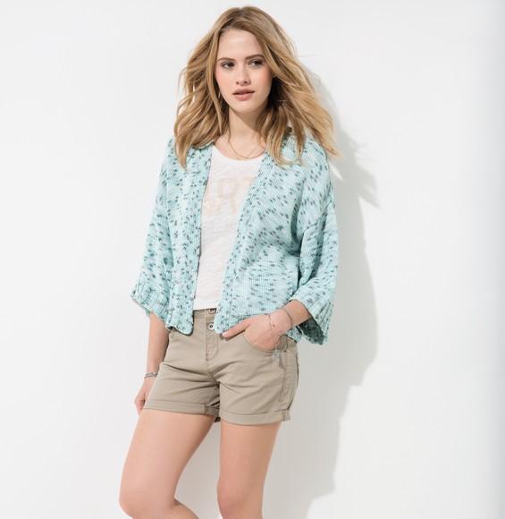 Modèle veste bleue femme Phil Multico