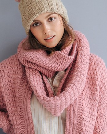Modèle snood rose Phil Looping