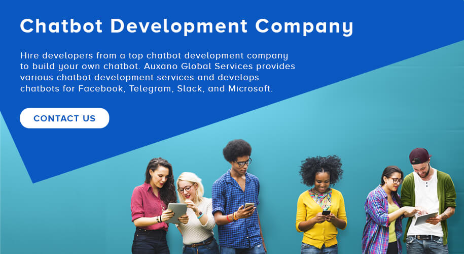 Chatbot Development Company - Auxano Global Services