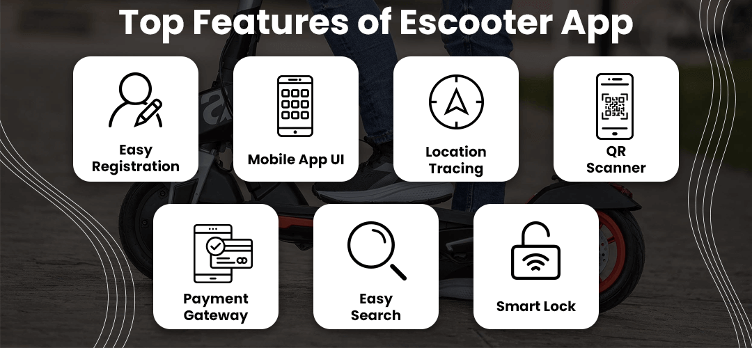 Top Features of Escooter App