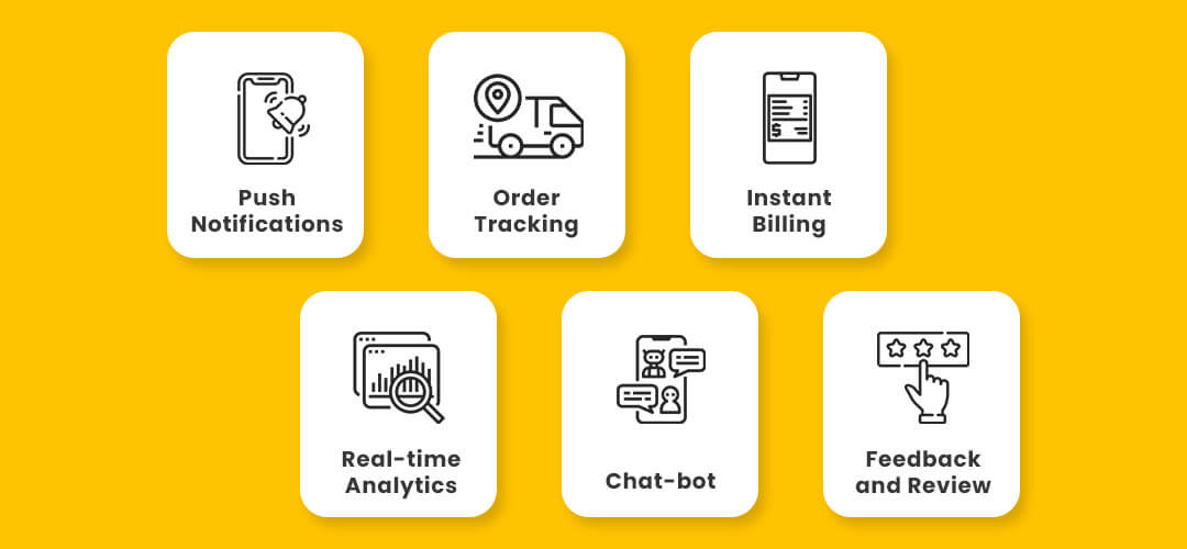 Features of Liquor Delivery App
