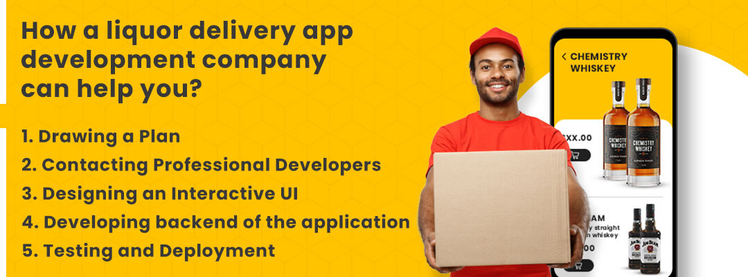 How a liquor delivery app development company can help you