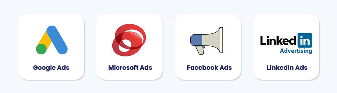 Top Advertising Platforms by ROAS