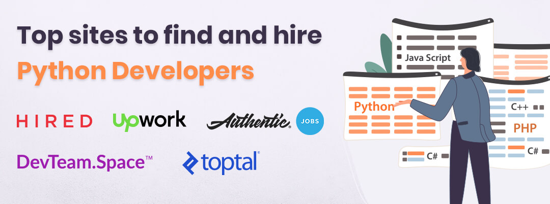 Top sites to find and hire Python Developers