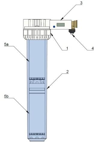 AVDK 200: Demineralizační přenosná jednotka pro demineralizaci vstupní vody - popis
