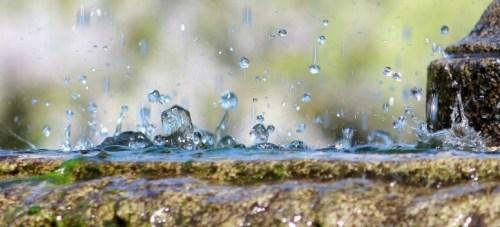Záchyt dešťové vody