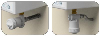 Ultima MG2: Kompaktní magnetický mechanický filtr - vertikální a horizontální poloha