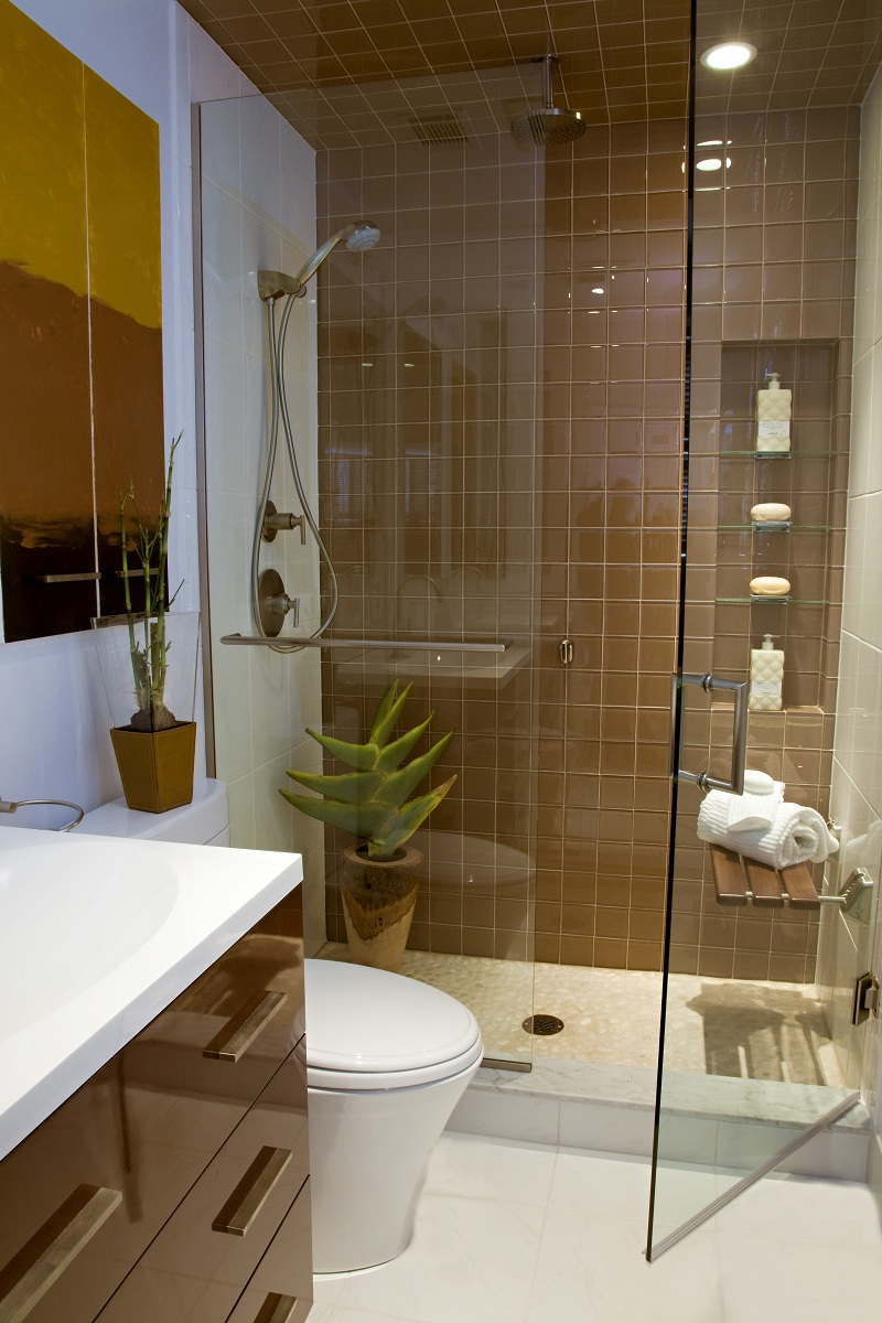30 Best Small Bathroom Ideas on Small Space Small Bathroom Tiles Design  id=49146