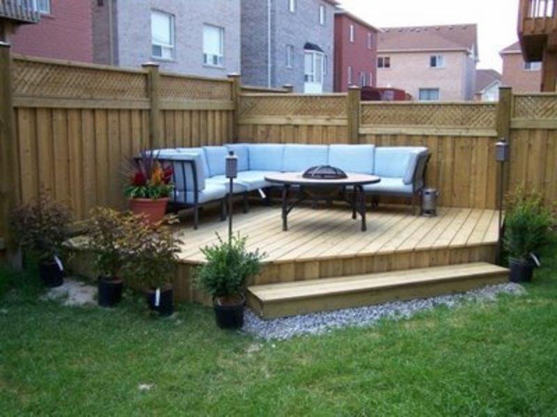 20 Backyard Ideas For You To Get Relax on Cheap Back Garden Ideas id=58665
