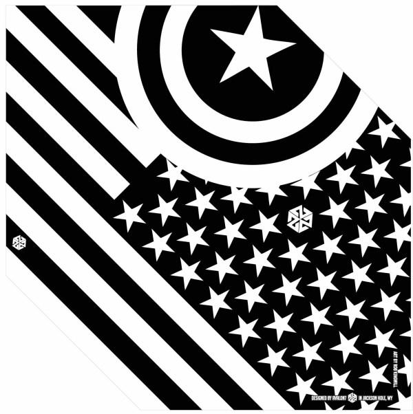 american flag bandaril