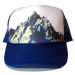 Majestic Grand Tetons Blue Trucker Hat