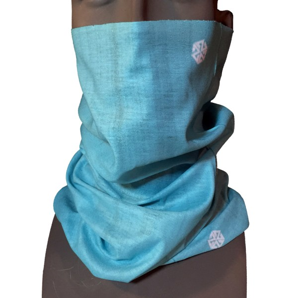 AVALON7 Solid Teal snowboarding faceshield