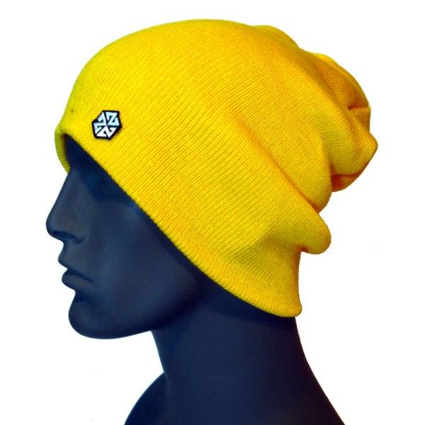 avalon7 warm yellow long winter snowboarding skiing beanie