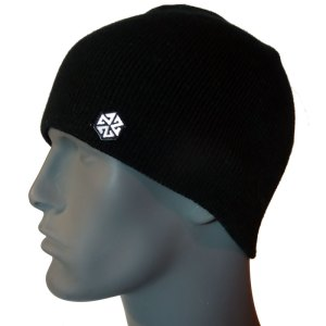 avalon7 warm black winter snowboarding skiing beanie