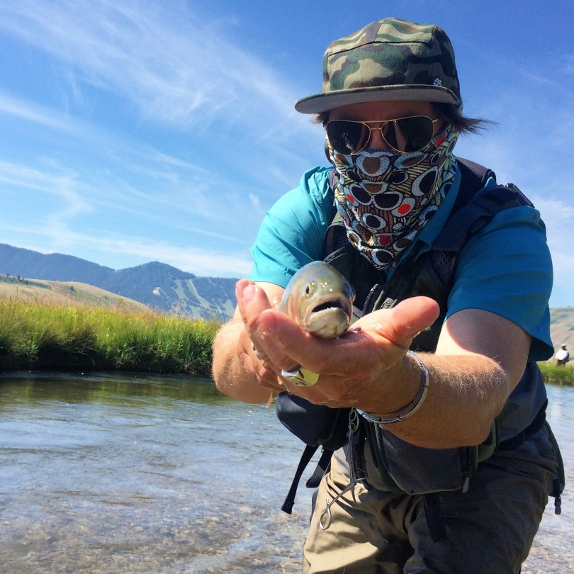 AVALON7 Fly Fishing Sun Masks