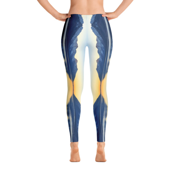 AVALON7 TETON REFLECTIONS YOGA PANTS RUNNING LEGGINGS