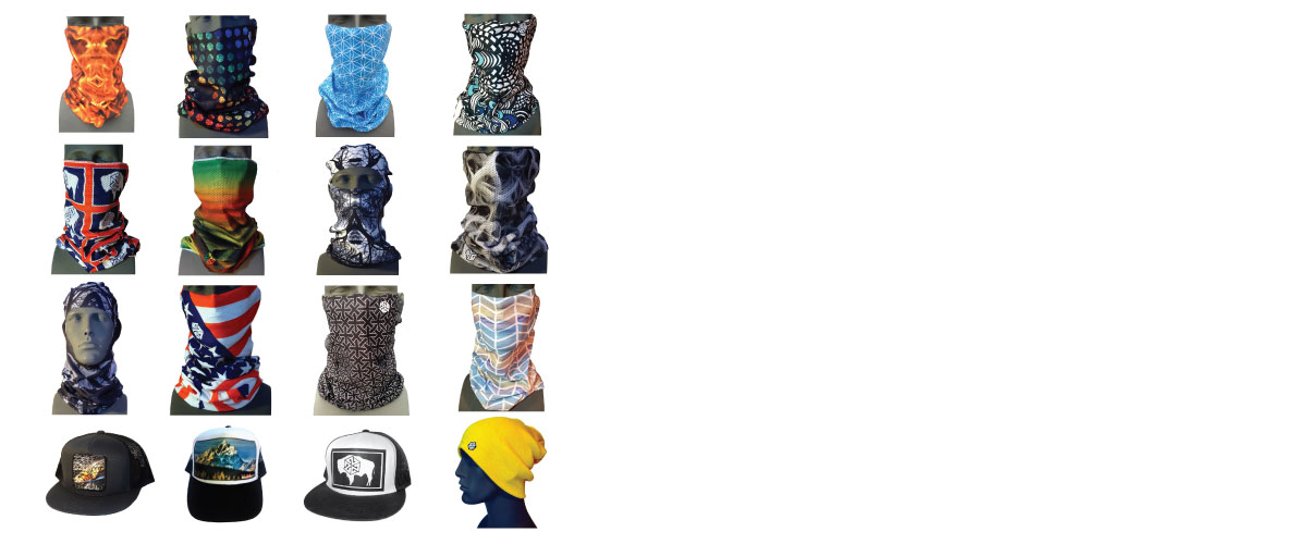 avalon7 snowboarding facemask, balaclavas, buffs, neckwarmers
