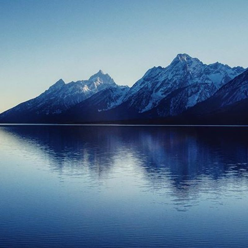 The timeless mountains and the ever changing lake. Motion and stillness blending and becoming one.  #AVALON7 #inspiredstate #tetons