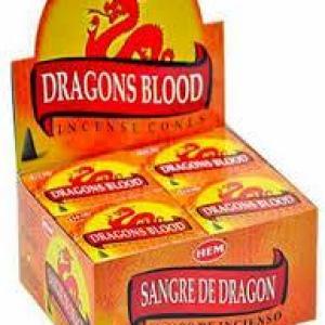 Hem's Dragons Blood Incense Cones
