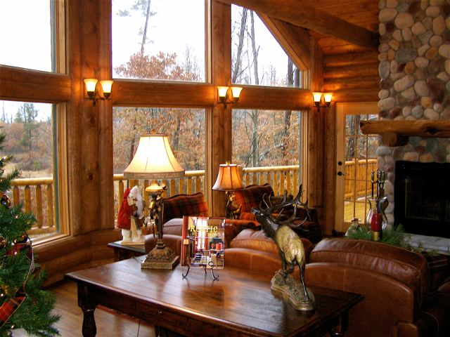 Log Home Interior Photos Avalon Log Homes