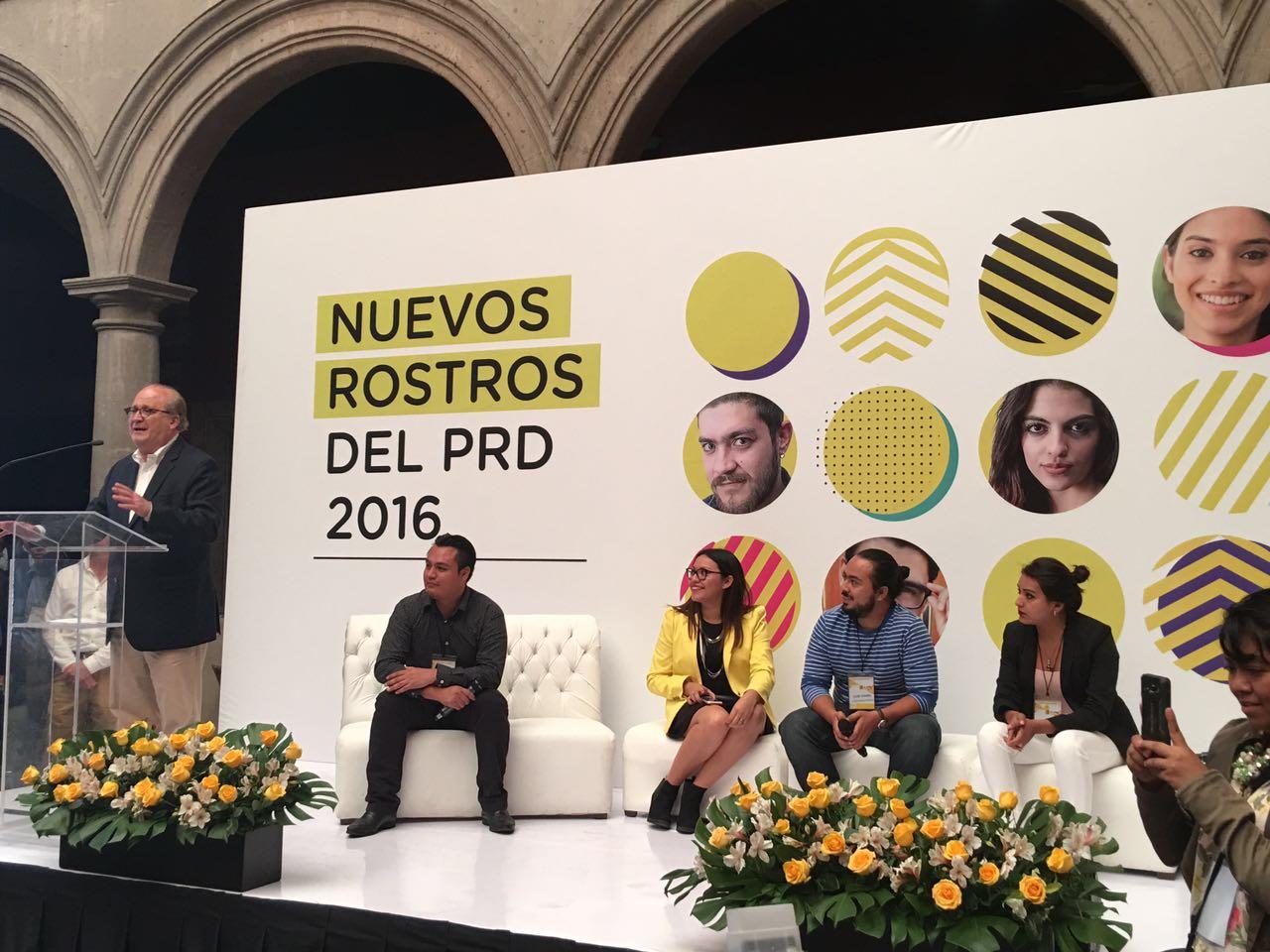 Nuevos rostros del PRD 2016