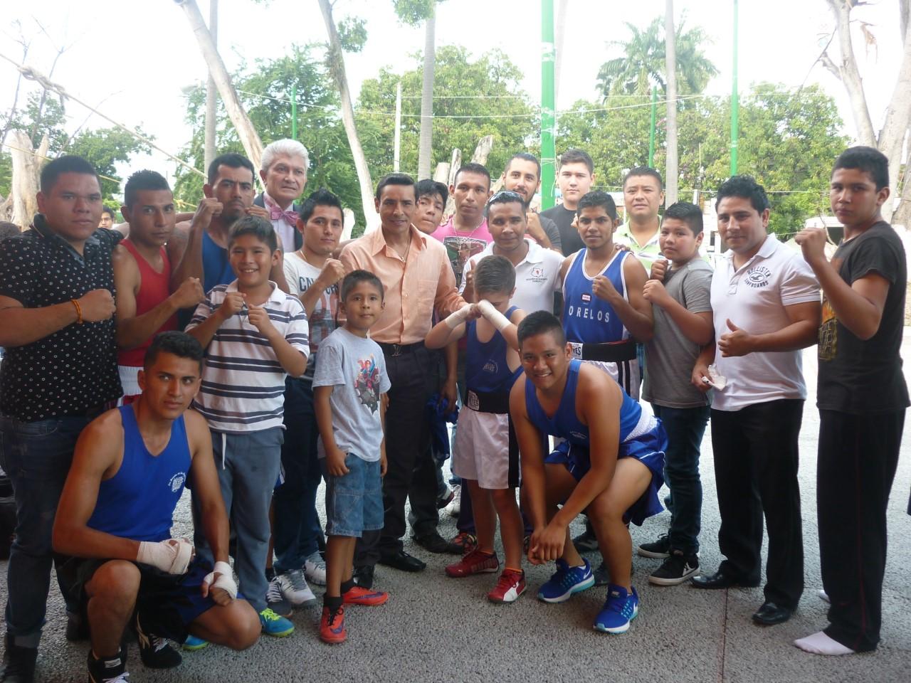 De lujo la celebración de la Escuela de Box El Rey Cuadros – Avance ...