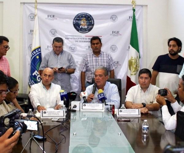 fiscalías del Estado de México, Distrito Federal y Puebla
