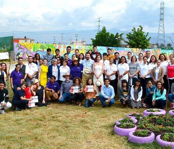 Mural del Jardín Acuático por la Paz