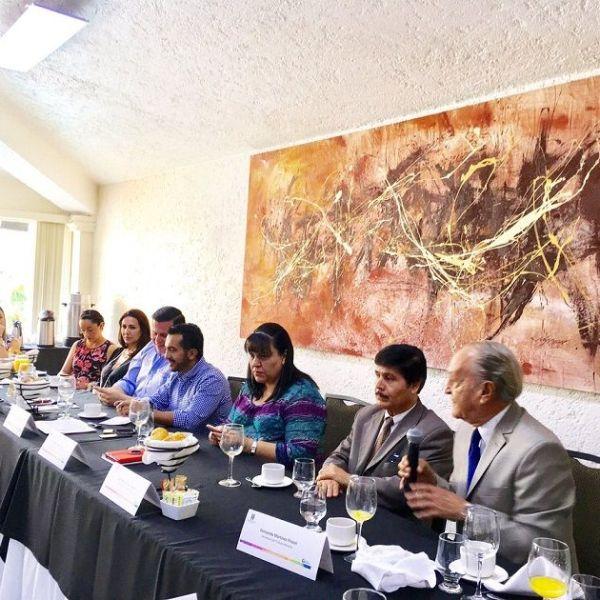 el titular del SNE Morelos, Alexis Ayala Gutiérrez