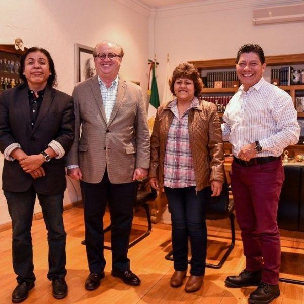 Mario Cortés Montes, secretario general del Sindicato Independiente de Trabajadores Académicos de la Universidad Autónoma del Estado de Morelos (SITAUAEM)