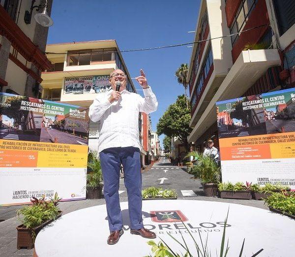 El gobernador Graco Ramírez inauguró la rehabilitación