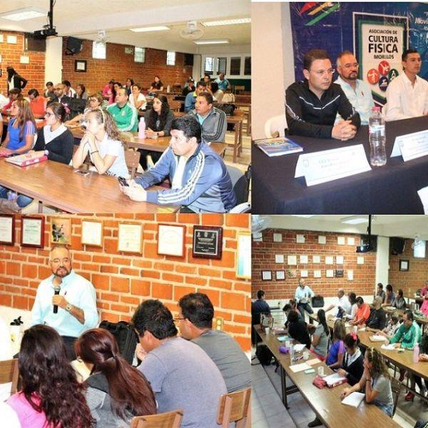 Paul Michael Calderón Hidalgo presidente de la Asociación de Cultura Física en el estado de Morelos